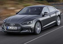 Nuova Audi A5: arriva anche la Sportback a Parigi