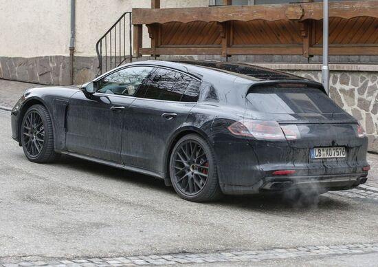 Porsche Panamera station wagon: arriva al Salone di Ginevra 2017