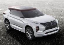 Mitsubishi GT-PHEV Concept: l'elettrica da 120 km di autonomia a Parigi 2016
