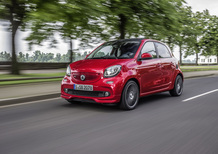 smart Brabus 453 [Video prime impressioni]