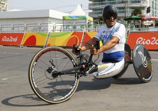 Paralimpiadi 2016: Zanardi argento nella prova in linea della handbike