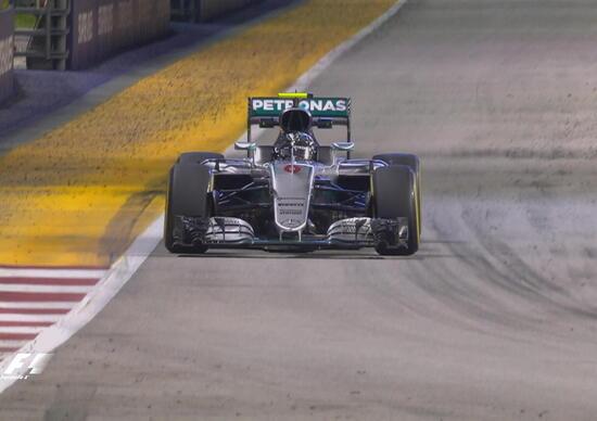 F1, Gp Singapore 2016, FP2: Rosberg davanti a tutti