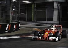 F1, Gp Singapore 2016: Vettel: «Non è stata questione di sfortuna»