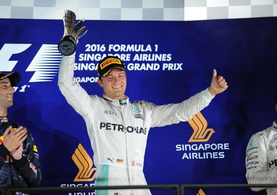 F1, Gp Singapore 2016: le pagelle