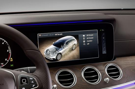 Mercedes-Benz Classe E SW A Parigi debutta la All-Terrain