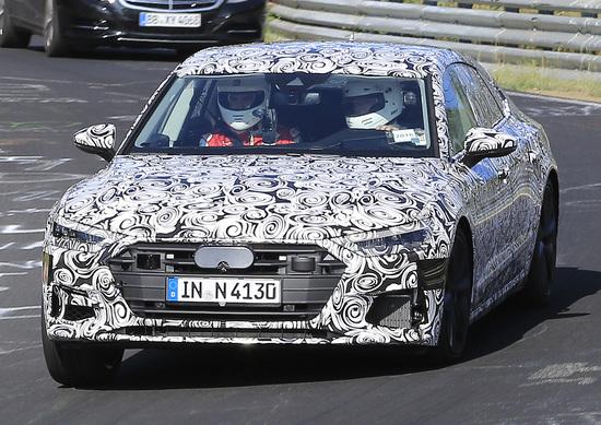 Nuova Audi S7 Sportback: ecco le foto spia al Ring