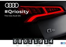 Audi Q5 debutta al Salone di Parigi 2016: ecco il teaser