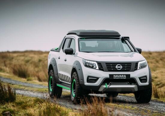 Nissan Navara EnGuard Concept: innovativo pick-up 4WD da soccorso [FOTO e VIDEO]