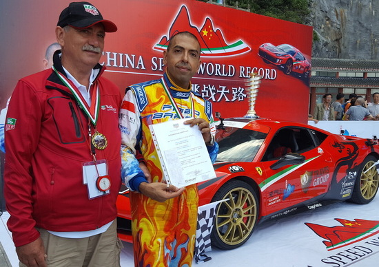Record in Cina per Fabio Barone