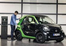 smart: a Parigi arriva l'intera gamma elettrica