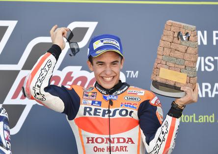 MotoGP Aragon. Marquez: Importante fermare Rossi