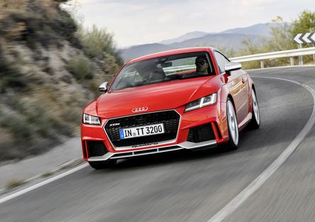 Audi TT RS [Video primo test]