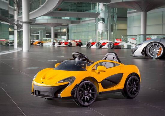 Nuova McLaren P1TM: per bimbi e genitori appassionati