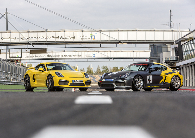 Porsche Cayman GT4 Clubsport [Video prova in pista]