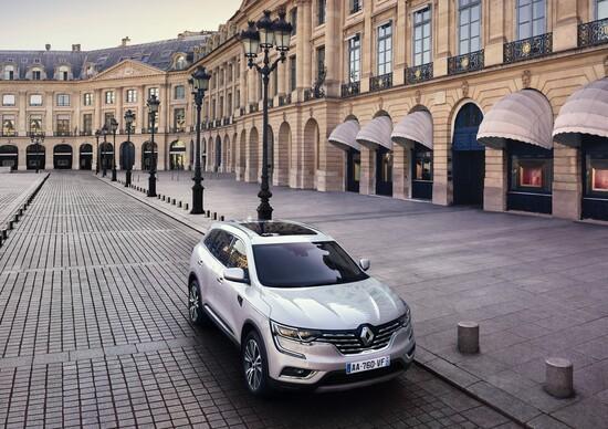 Salone di Parigi 2016 Renault Koleos Initiale Paris raffinato SUV