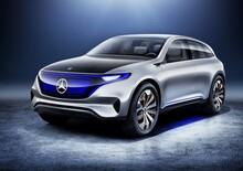 Salone di Parigi 2016, Mercedes Generation EQ, concept elettrica da 402 CV