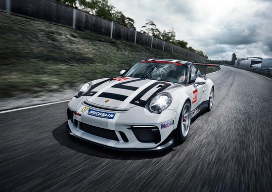 Salone di Parigi 2016, ecco la nuova Porsche 911 GT3 Cup