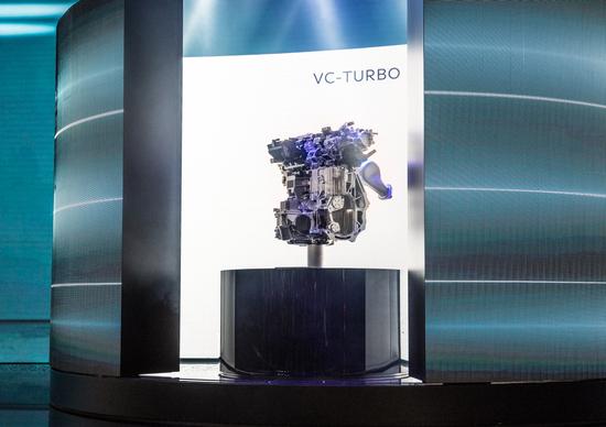 Salone di Parigi 2016, Infiniti col nuovo 2.0 turbo a compressione variabile