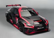 Audi RS 3 LMS, al Salone di Parigi la vettura TCR