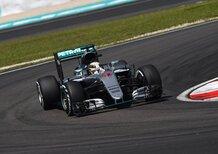 F1, Gp Malesia 2016, FP2: Hamilton al top