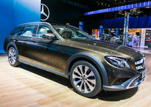 Mercedes Classe E All-Terrain al Salone di Parigi 2016