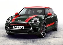 Mini John Cooper Works Clubman al Salone di Parigi 2016 [Video]