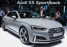 Audi A5 e A5 Sportback (S5/S5 Sportback) al Salone di Parigi 2016 [Video]
