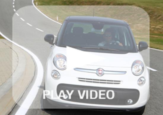A Balocco con la Fiat 500L