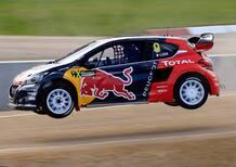 Mondiale Rallycross. Lettonia: La Prima di Sébastien Loeb (Peugeot)