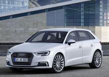 Nuova Audi A3 e-tron: il ritorno della plug-in nel restyling