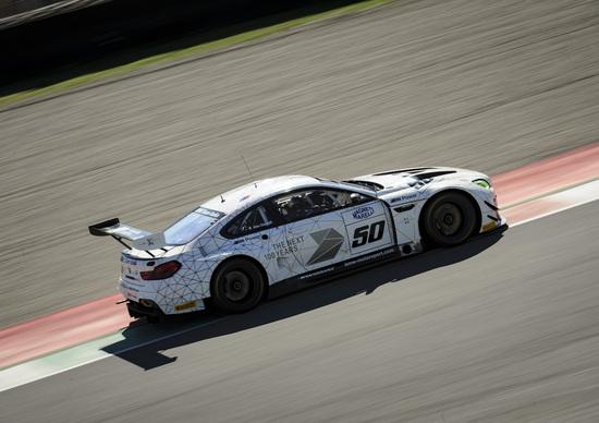 Zanardi a un decimo dalla pole nei test al Mugello con la BMW M6 GT3