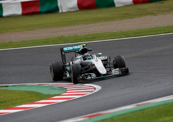 F1, Gp Giappone 2016, FP3: Rosberg al top