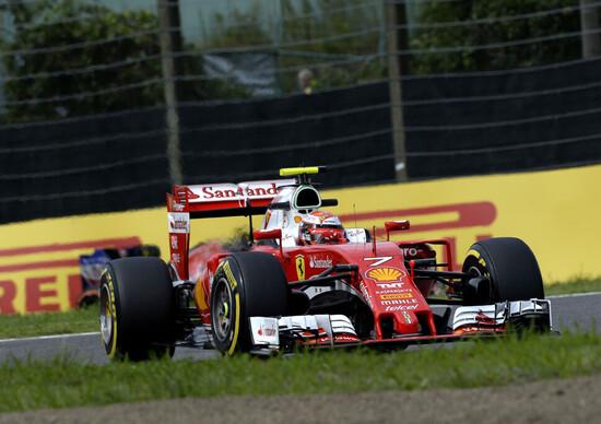 F1/news: Raikkonen e Vettel, GP del Giappone: non siamo dove