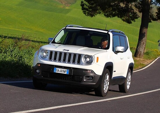 Jeep Renegade, problemi in frenata?