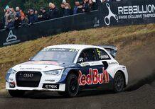 Mondiale Rallycross. Mattias Ekstrom (Audi) è Campione del Mondo