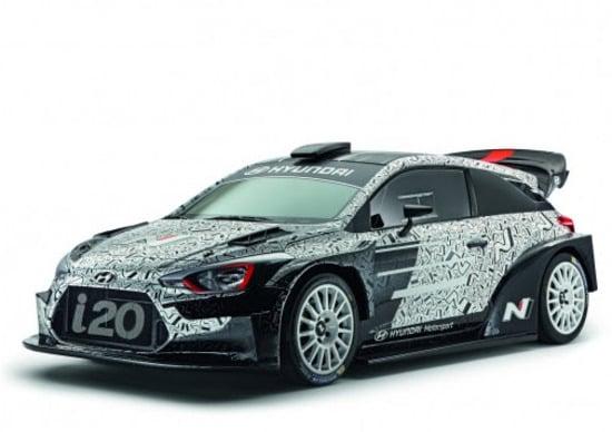 WRC 2017: Hyundai presenterà l'ultima vettura WRC 2017, al Monza Rally Show
