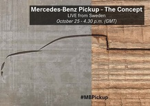 Mercedes pick-up: presentazione il 25 ottobre in diretta streaming
