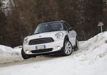 Su ghiaccio e neve con la Mini Countryman All4