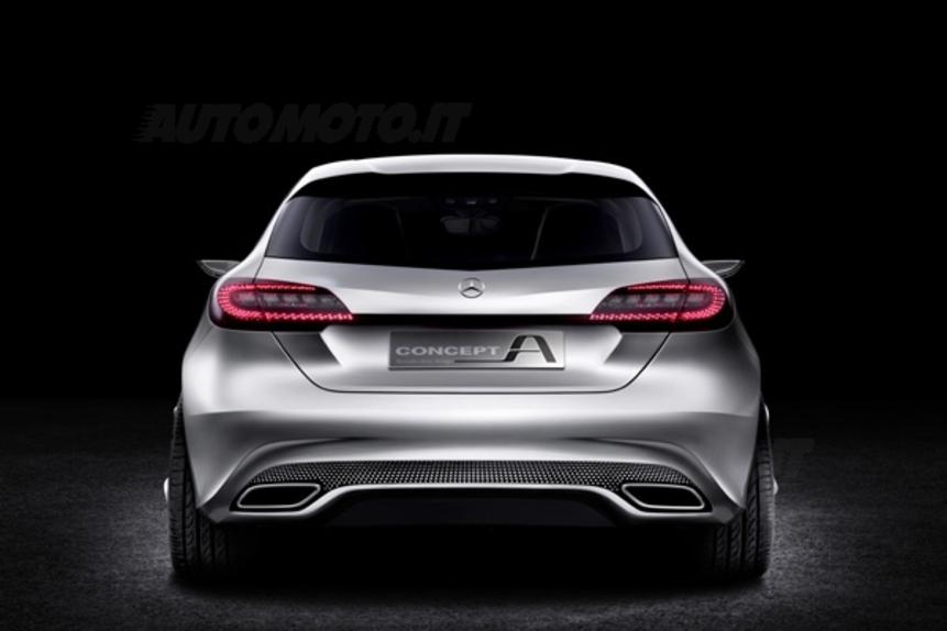 Mercedes classe a concept news for Interieur nouvelle classe a