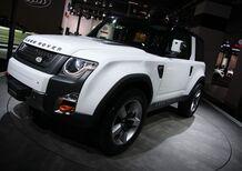Land Rover al Motor Show 2011