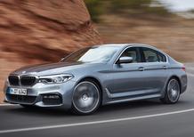 Nuova BMW Serie 5: ecco il listino italiano completo