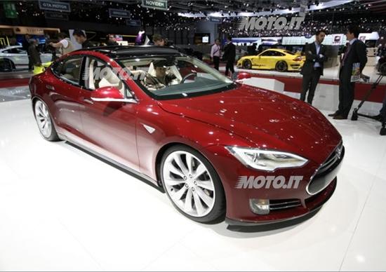 Tesla al Salone di Ginevra 2012