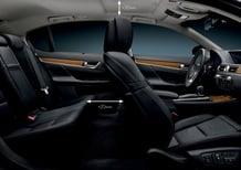 Lexus GS 450h: focus sugli interni