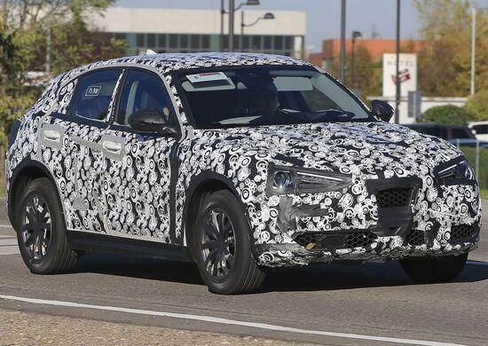 Alfa Romeo Stelvio: il SUV spiato in attesa di Los Angeles!
