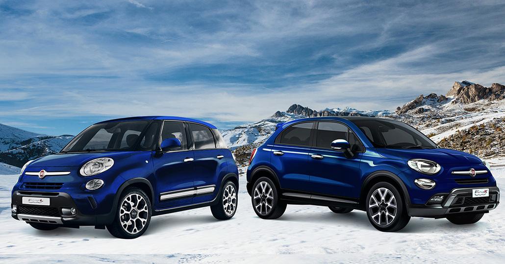 Fiat 500X e 500L in serie speciale Winter Edition