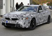 Nuova BMW Serie 3 G20: le prime foto spia