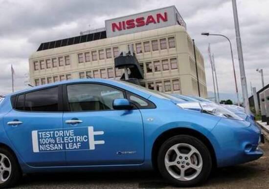 Nissan Leaf: ricariche gratuite nella sede aziendale di Capena