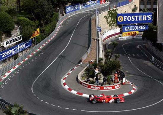 Circuito Monaco : Formula gli orari in tv del gran premio di