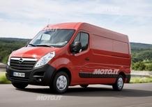 Opel Movano: dal prossimo autunno meno assetato e più ecologico