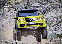 Mercedes-Benz G 550 4×4², debutto a Los Angeles